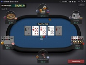 Breakout Poker Pot Limit Omaha Table